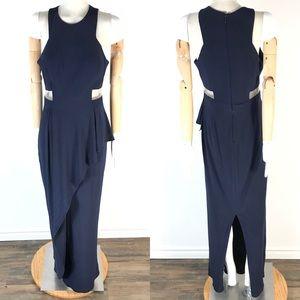 Laura layered mesh waist dress